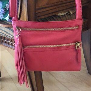 HOBO crossbody bag , leather